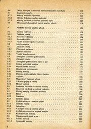 Analýza látek v plynném stavu