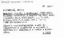 Hudobné divadlo v Košiciach 1789-1989.