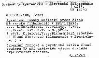 Vyšetření námahy umělecké práce členů Slovenské filharmonie v Bratislavě