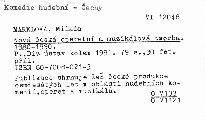 Nová česká operetní a muzikálová tvorba