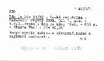 Kdo je kdo 91/92                         (Díl 1)