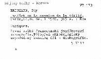 Janáček ou La passion de la vérité.