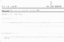 Ročenka Okresního archivu ve Znojmě 1989