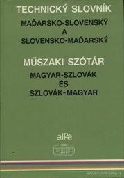 Maďarsko-slovenský a slovensko-maďarský technický slovník