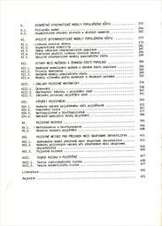 Matematické metody demografie a pojištění