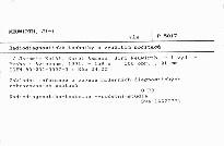 Radiodiagnostické techniky s využitím počítačů