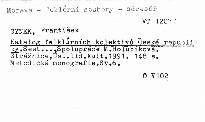 Katalog folklórních kolektivů České republiky