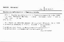 Dějiny pojišťovnictví v Československu                         (Díl l)
