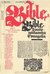 Bible Svatováclavská-Evangelia
