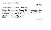 Bachs Kunst der Fuge.