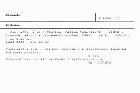 Bydlení                         (Roč. 1991. Č.26)