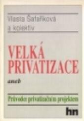 Velká privatizace aneb Průvodce privatizačním projektem