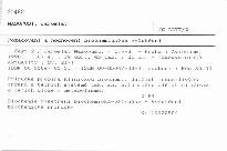 Požadování a hodnocení biochemických vyšetření                         (Část 2)