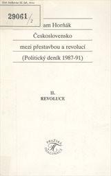 Československo mezi přestavbou a revolucí                         ([Část] 2)