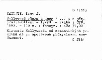 Hollywood včera a dnes