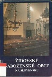 Židovské náboženské obce na Slovensku