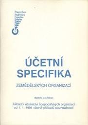 Účetní specifika zemědělských organizací