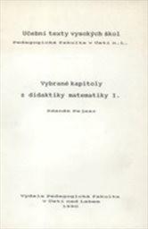 Vybrané kapitoly z didaktiky matematiky