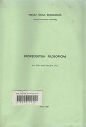 Propedeutika filosofická