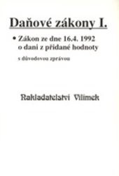 Daňové zákony                         ([Seš.] 1,)