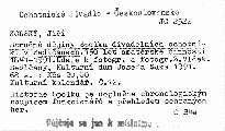 Stručné dějiny Spolku divadelních ochotníků v Sedlčanech