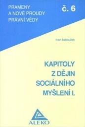 Kapitoly z dějin sociálního myšlení 1