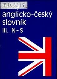 Velký anglicko-český slovník                         ([Díl] 3,)