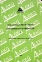 Pedagogika pro učitele ekonomických předmětů                         ([Díl] 1)