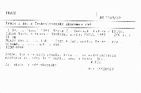Práce z dějin Československé akademie věd                         (Seria C,)