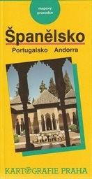 Španělsko, Portugalsko, Andorra - mapový průvodce