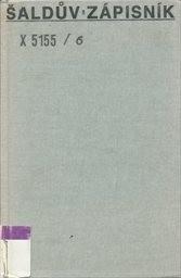 Šaldův zápisník                         (Sv. 6)