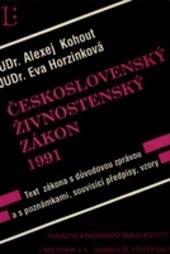 Československý živnostenský zákon 1991