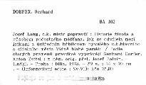 Josef Lang, c. k. mistr popravčí