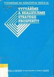 Vytváříme a realizujeme strategii prosperity