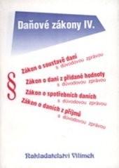 Daňové zákony                         ([Sv.] 4,)