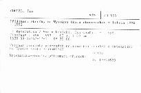 Přijímací zkoušky na Vysokou školu ekonomickou v letech 1990 - 1992
