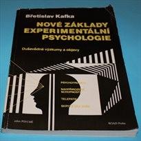 Nové základy experimentální psychologie