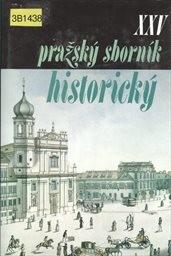 Pražský sborník historický 25