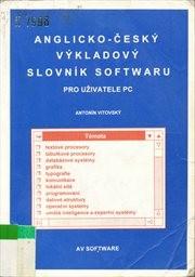 Anglicko-český výkladový slovník softwaru pro uživatele PC