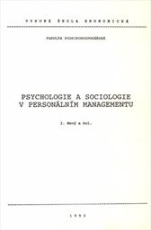 Psychologie a sociologie v personálním managementu