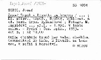 Josef Topol a Divadlo za branou