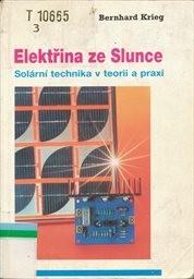 elektřina ze slunce