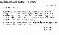 Lexikon Orchestermusik Barock                         ([Bd.2] G-R)