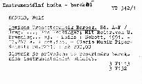 Lexikon Orchestermusik Barock                         ([Bd.l] A-F)
