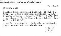 Lexikon Orchestermusik Klassik                         ([Bd.2.] L-Z)
