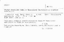 Statut právnické fakulty Masarykovy univerzity a předpisy související