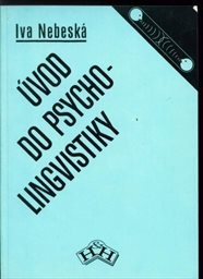 Úvod do psycholingvistiky