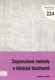 Doporučené metody v klinické biochemii