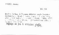 Martin Luther & Thomas Münzer aneb Začátky účetnictví