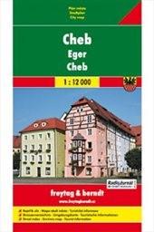 Cheb - plán města